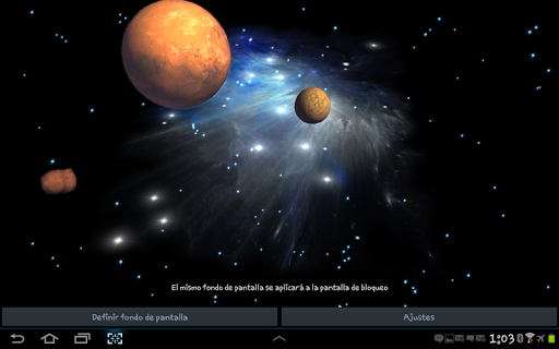 3D Galaxy Live Wallpaper for PC