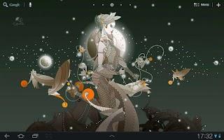 Screenshot of Drobita moon LWP