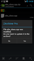 Screenshot of ZArchiver Donate