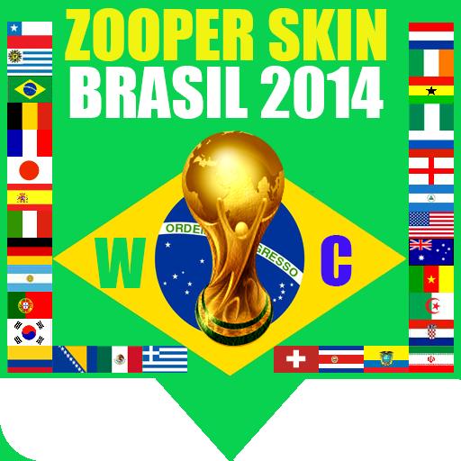 Zooper Widget Brasil 2014 LOGO-APP點子