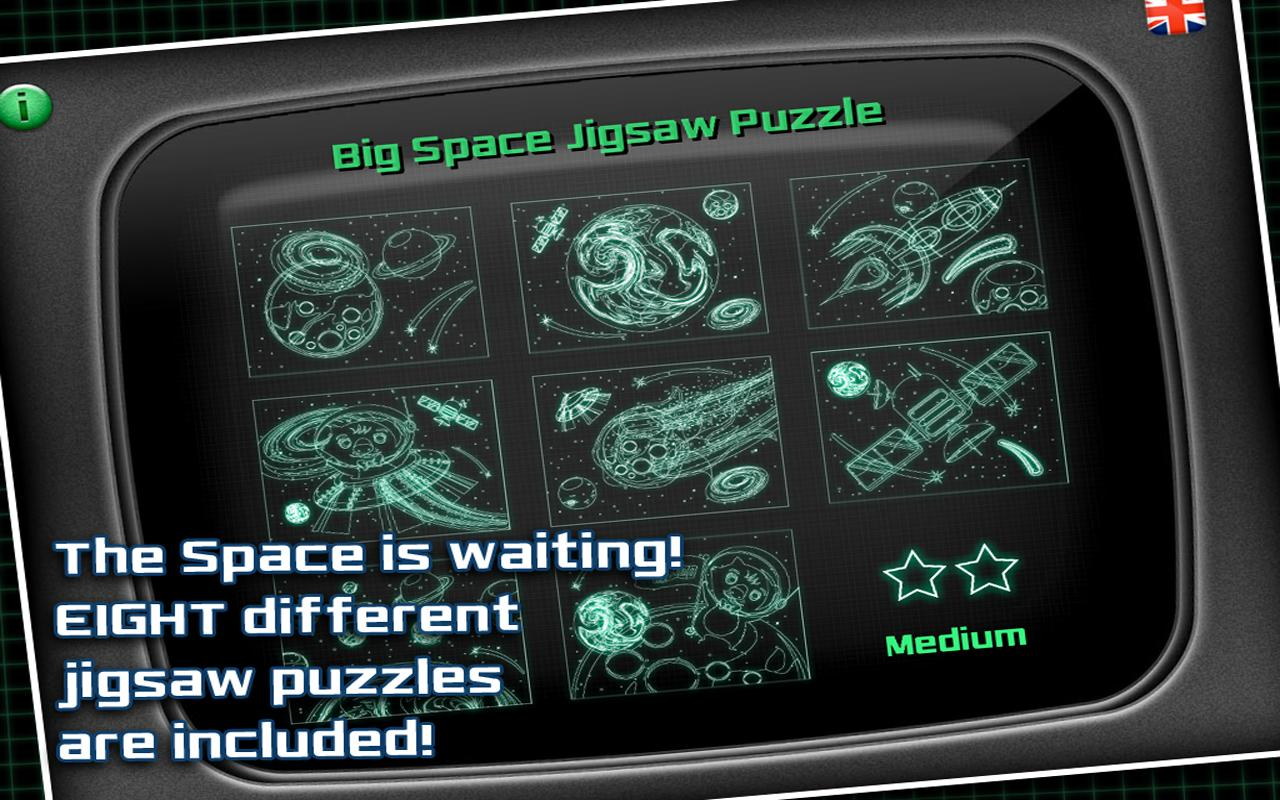 Space Jigsaw Puzzle- screenshot