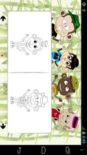 Fashion Monkey Coloring - screenshot thumbnail
