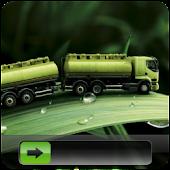 Green Leaf GO Locker Theme