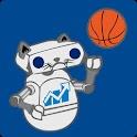 UNH Football & Basketball logo