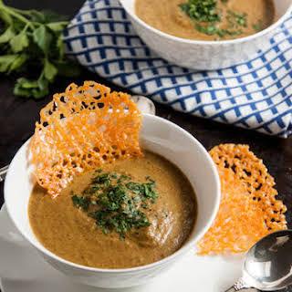 Healthier Broccoli Cheese Soup.