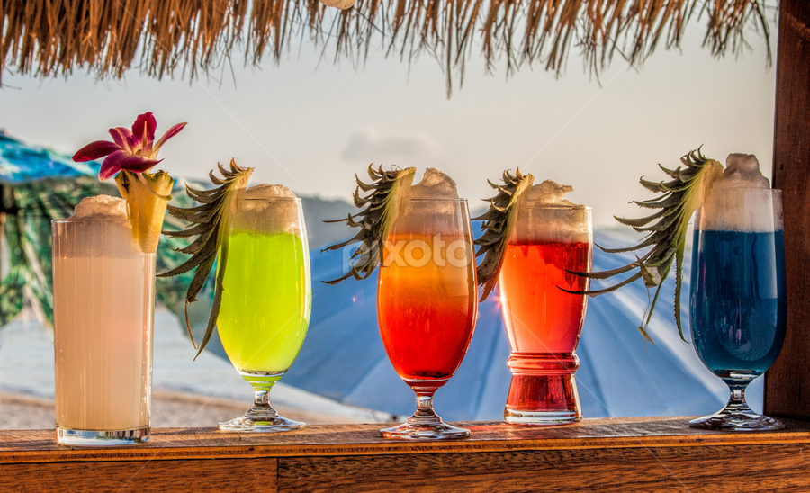coctails by Vibeke Friis - Food & Drink Alcohol & Drinks ( five on line, beach, cocktails,  )