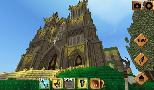 Block Castle Craft 3D