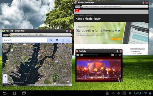 OverSkreen Floating Browser- screenshot thumbnail