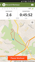Screenshot of Map My Hike GPS Hiking