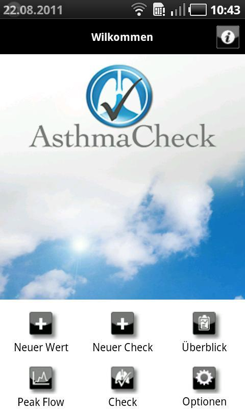 AsthmaCheck- screenshot