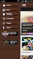 Screenshot of PRCA ProRodeo