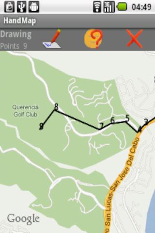 HandMap Map Draw & Track GPS - screenshot