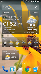 ������ Weather & Clock Widget hL1tSQ2Sz_gj0YWMniDy