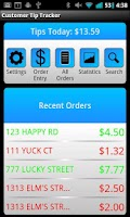 Screenshot of Delivery Customer Tip Tracker