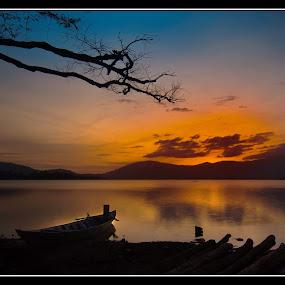 To Meet The Sun by Dungrau FôTô - Landscapes Sunsets & Sunrises