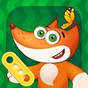 Tim the Fox - Puzzle Free icon