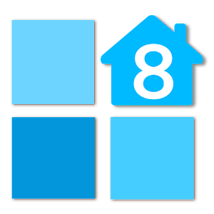 Launcher 8 free (fake wp8) icon