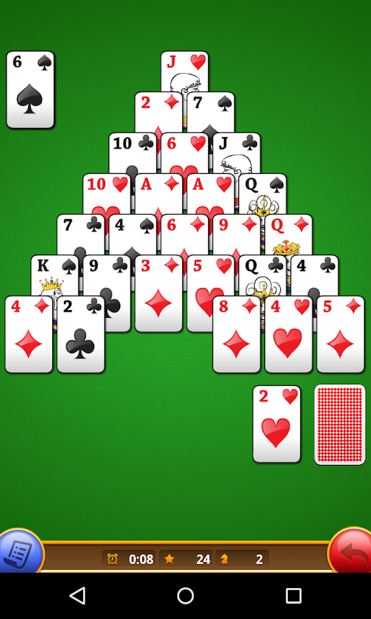 Classic Pyramid Solitaire Free Android Apps On Google Play