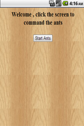 Crazy Ants game