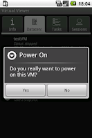 Screenshot of Virtual Viewer