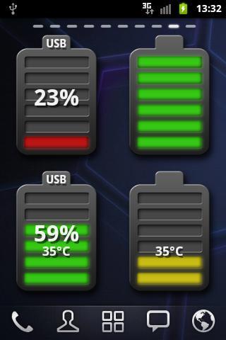 Caynax Blurry Battery Widget v1.0