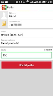 mBank CZ 2.0 - screenshot thumbnail