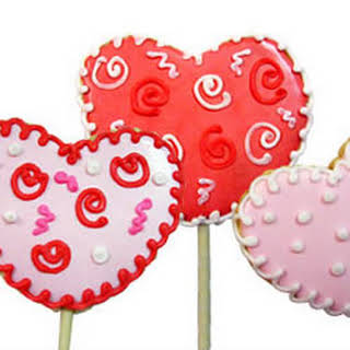 Lollipop Cookie Valentines.