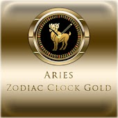 ARIES - Zodiac Clock