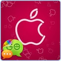 Pink Apple [Go Contact Theme] icon