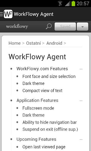 WorkFlowy Agent