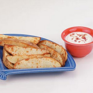 Potato Wedges with Dip