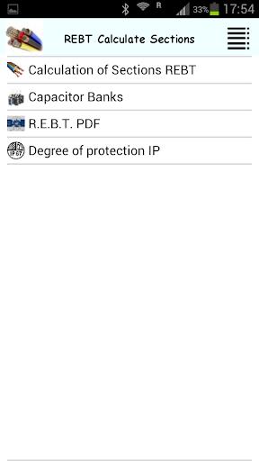 KEY PRO REBT Sections Calcula.