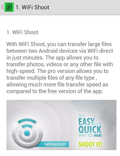 Wifi Direct File Sharing