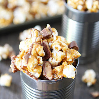 Butter Toffee Heath Popcorn