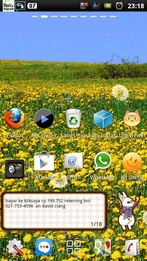 spring flower yellow dandelion - screenshot