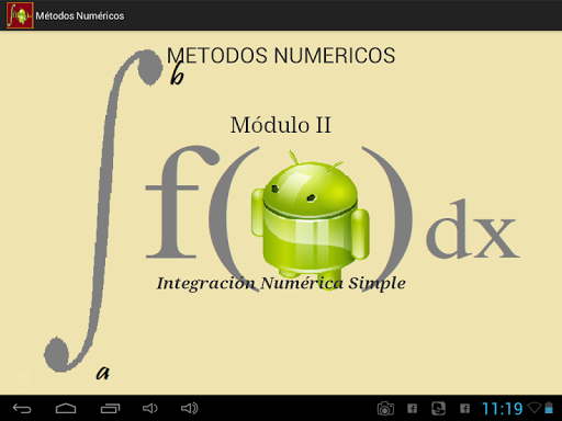 Métodos Numéricos- Módulo II