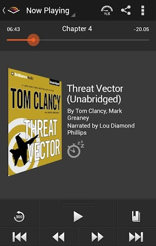 android Audiobooks from Audible Screenshot 0