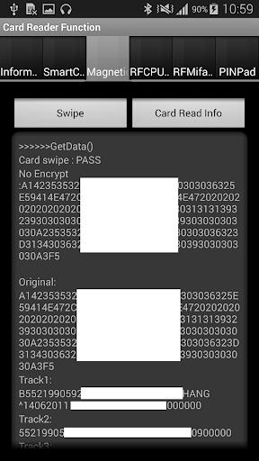 SComboReaderII screenshot