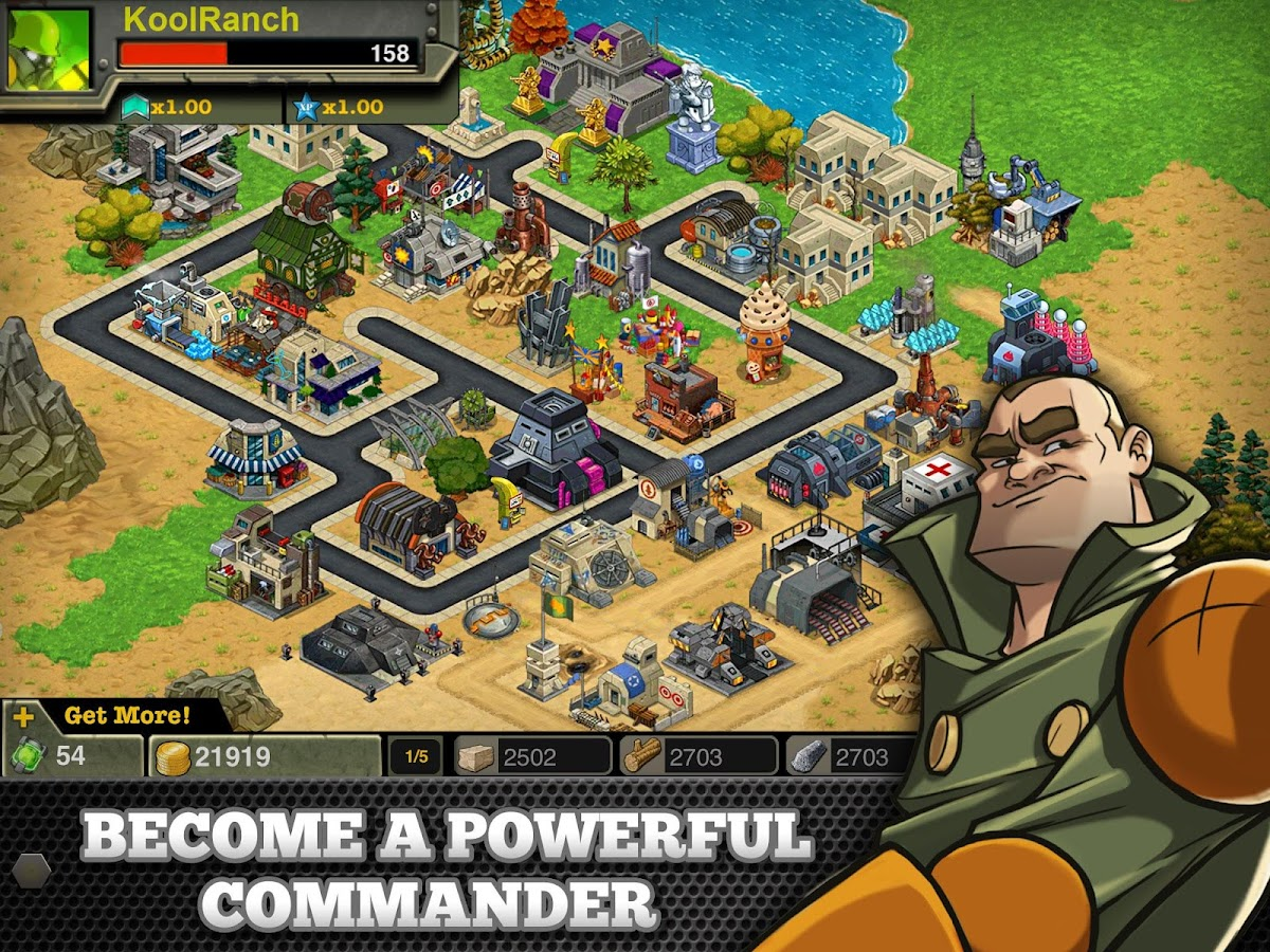 Battle Nations- screenshot