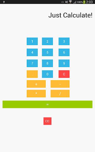 【免費生產應用App】Just Calculate!-APP點子