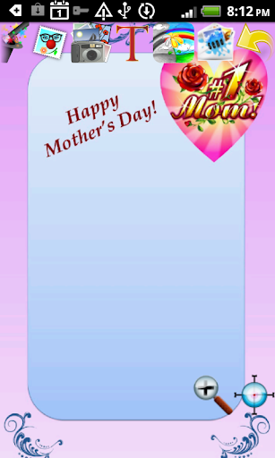 Mothers Day Cards Doodle Text