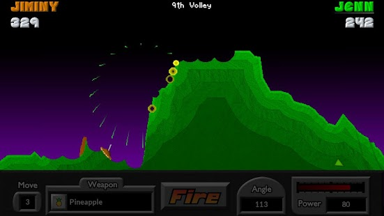 Pocket Tanks- screenshot thumbnail