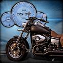 Harley Davidson Fat Bob HD LWP icon
