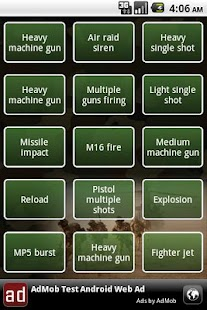 Army soundboard - screenshot thumbnail