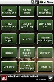 Army soundboard - screenshot thumbnail