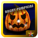 Angry Pumpkins at Halloween icon