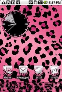 玩個人化App|Leopard Print Pink Theme免費|APP試玩