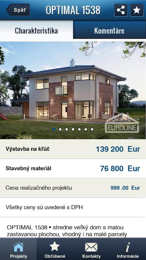 Euroline SK- screenshot