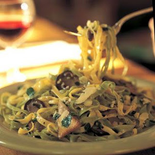 Tagliatelle with Porcino Mushrooms