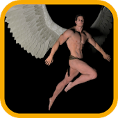 3D Angel Man